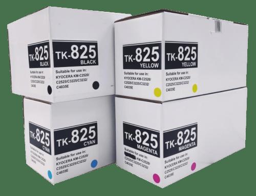 Kyocera mita Compatible TK825/ TK826/ TK827 Compatible Toner Cartridge
