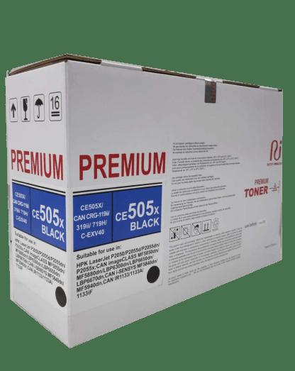 HP 05X high capacity compatible