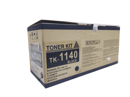 Kyocera Mita TK1140 compatible toner cartridge