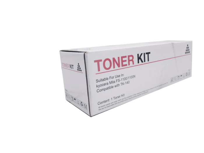 Kyocera Mita TK140 compatible toner cartridge