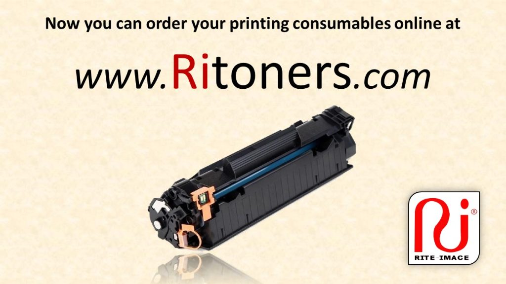Now you can order your printing consumables online at RiToners.com