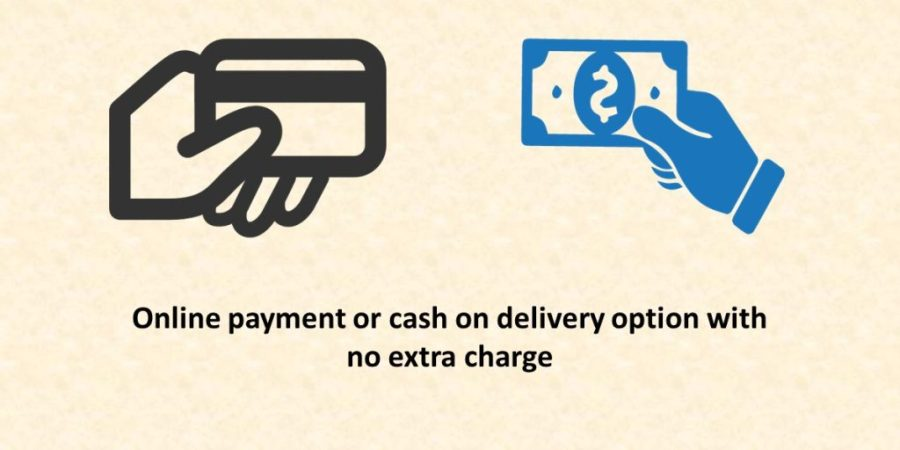 cash on deliveries with no extra charge