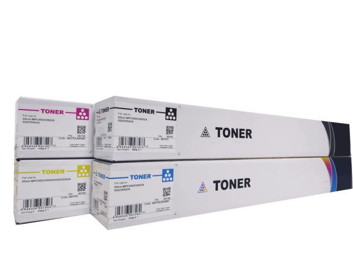Ricoh MPC 4502/ Ricoh MPC 5502 compatible toner cartridge