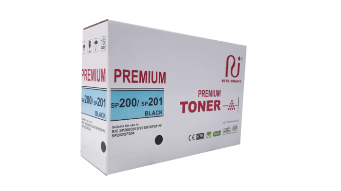 Ricoh Sp200/ Sp201 Compatible toner cartridge