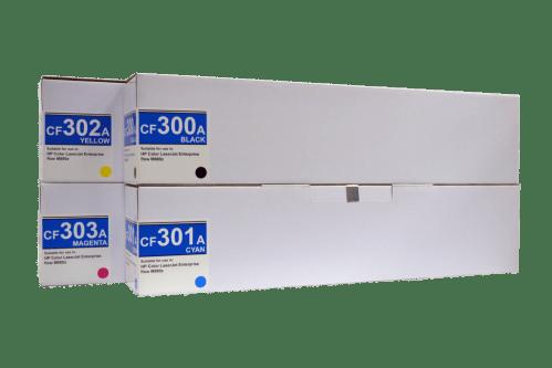 Hp 827A (CF300A/ CF301A/ CF302A/ CF303A) Compatible Toner Cartridges