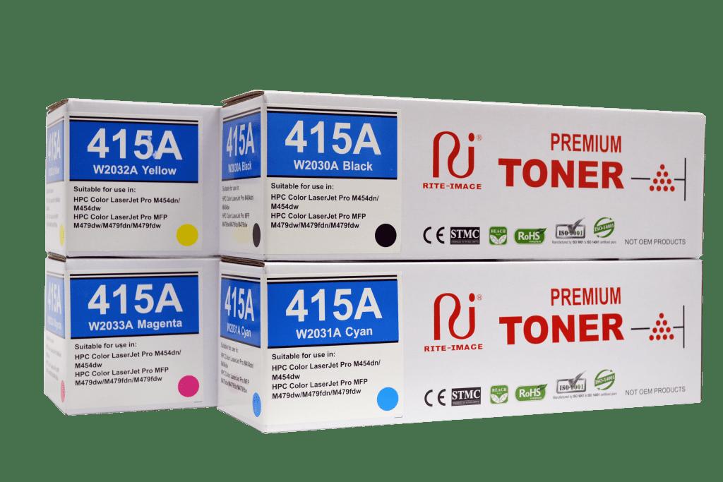 Rite Image 415A - (W2030A/ W2031A/ W2032A/ W2033A) Compatible Toner Cartridge