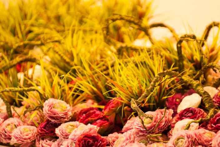 Floristikos kompozicija - interjero dekoras