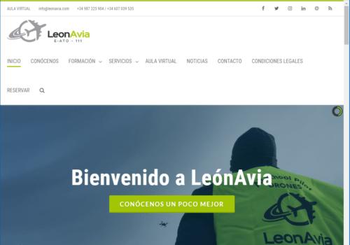 Web LeónAvia