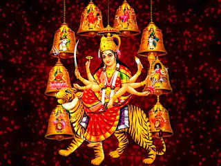 Nine forms of Durga - Navratri