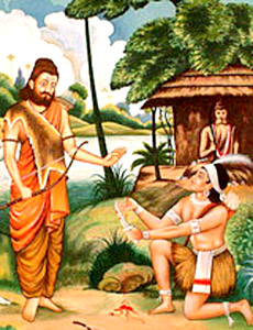 Drona and Ekalavya