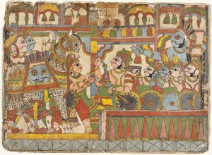 Babruvahana vs Arjuna