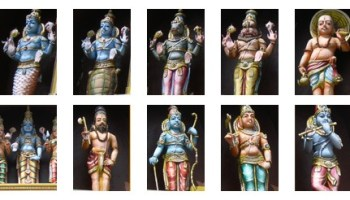 Dashavatar of Lord Vishnu - Indian mythology