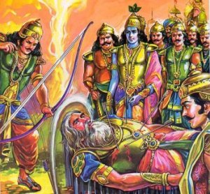 Indian mythology story from Mahabharat