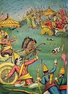 Karna with Kavach and Kundal - Mahabharat story