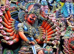 Ravana's  - A character from the Ramayana