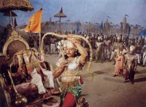 Ashwaththama firing the dreaded weapon