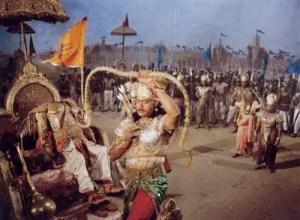 Ashwaththama firing the dreaded weapon
