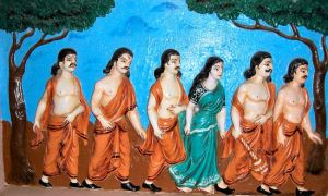 pandavas-draupadi-mahabaharat-indian-mythology