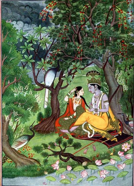 Miniature painitng - Folk Art - Shri Krishna