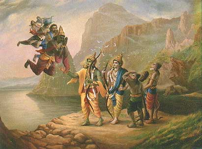 When Rama invoked Brahmastra on Sagar (Sea God)