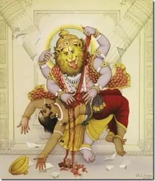 Narsingh avatar of Lord Vishnu