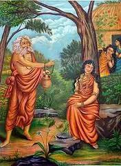 Durvasa curse on Shakuntala