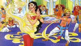 Draupadi cheer haran by Dushashan