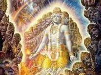 Krishna in Vishwaroopa
