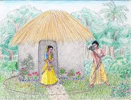 Laxman draws Laxmanrekha