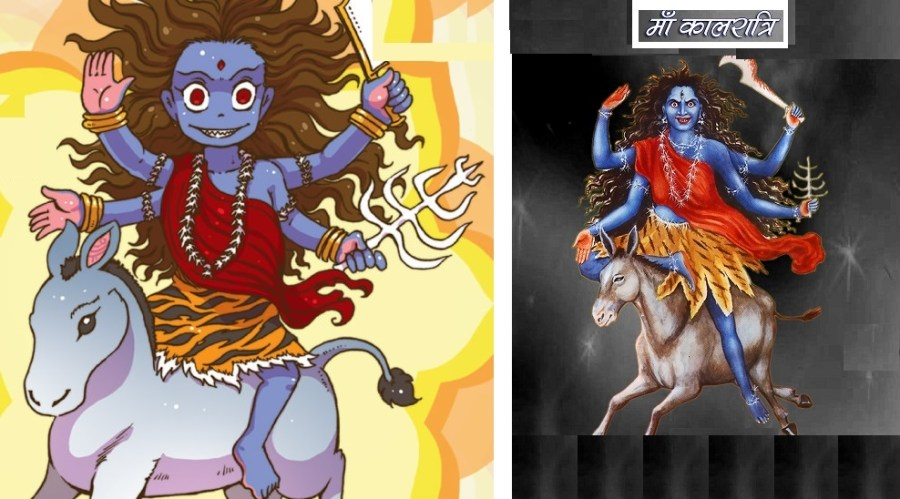 Maa Kaalratri is worshipped on seventh day of Navratri