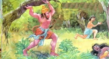 Image result for hanumana ashoka