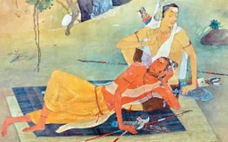 Image result for karna and parashurama