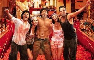 This festival was recreated for Zindagi na milegi dubara - a Hindi movie