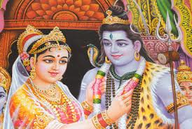 Wedding of Shiva and Parvati