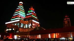 Mahavir temple at night, Patna