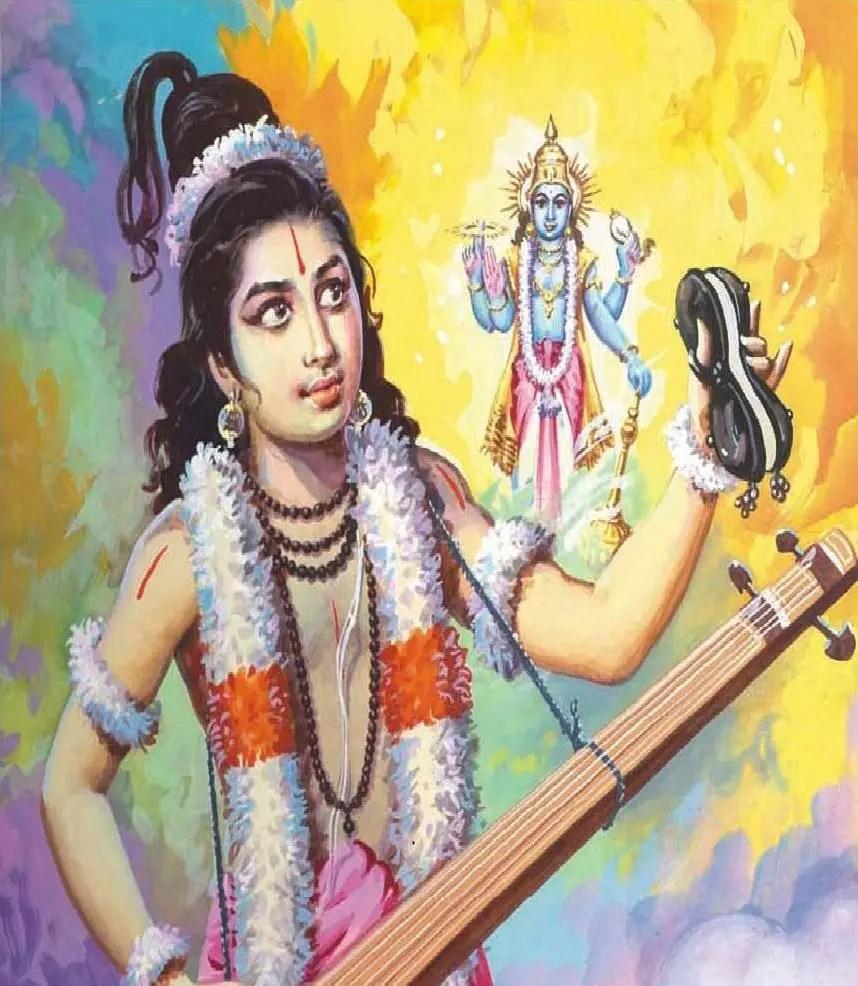 Narada and Lord Vishnu