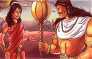 Hidimba and Bhima