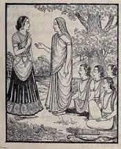 kunti and hidimba