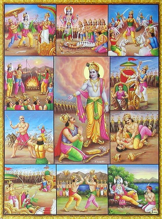 Eighteen days of Mahabharata war Mahabharata war which lasted eighteen days