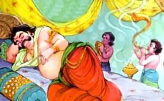 Kumbhakarna in Ramayana