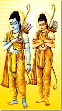 Rama and Laxman