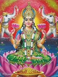 Gaja Lakshmi - The provider of wealth and prosperity