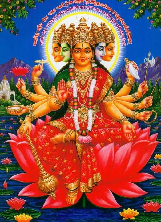 Panchmukhi Gayatri Mata