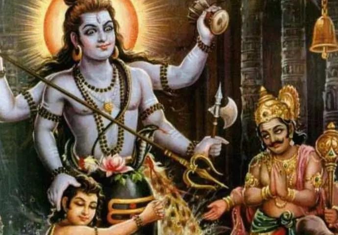 Lord Shiva and Kalantaka