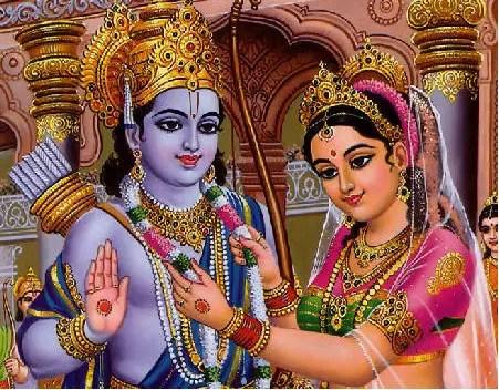 Sita weds Ram