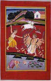 Kartavirya Arjuna and Parshuram fight