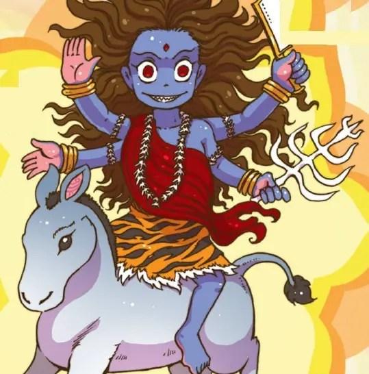 Kaalratri mata - seventh day of Navratri