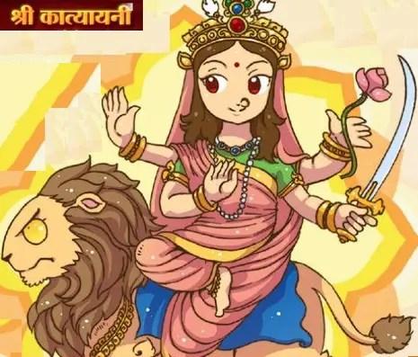 Maa Katyayani - Sixth day of Navratri