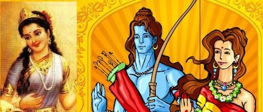 Lord Rama, Shanta and Sita