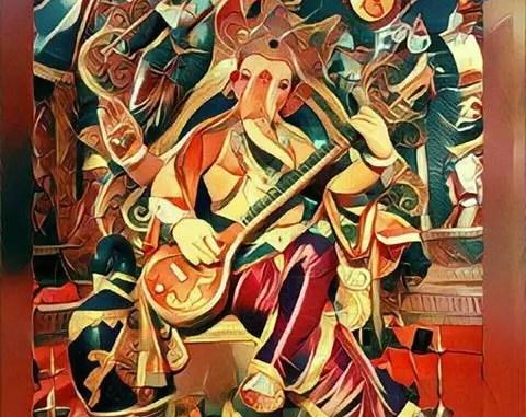 Chintamani Lord Ganesha